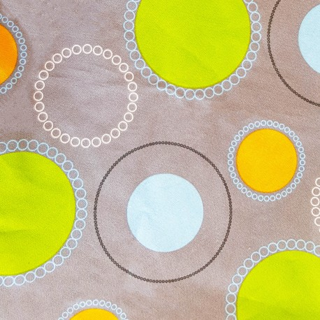 Housse CORPOMED Bulles colorées pour coussin d'allaitement