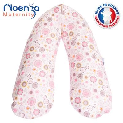 Coussin d'allaitement NOENZA + Housse Eden 100% COTON OEKOTEX