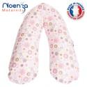 Coussin d'allaitement Noenza Maternity + Housse Eden Fleurs