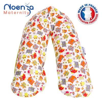 Coussin d'allaitement NOENZA + Housse Joy 100% COTON OEKOTEX